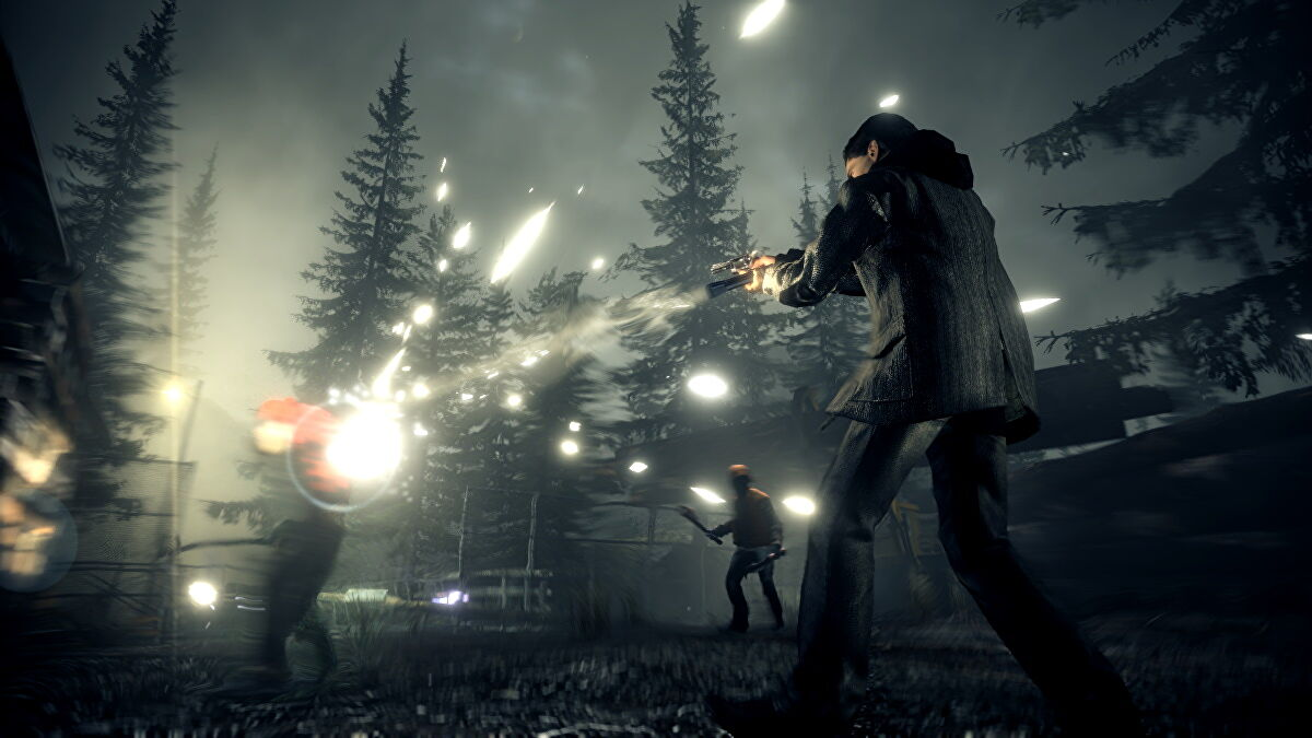 07 alanwake 07 fight 720p Retailer lists possible release date of Alan Wake Remastered