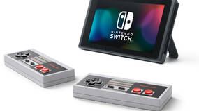 Image for Get those neat official NES Switch controllers on sale at Nintendo Store US!