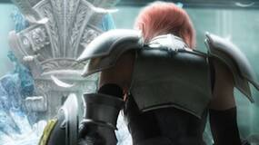 Image for FFXIII-2 70 percent complete, features branching dialogue