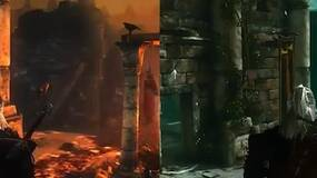 Image for Witcher 2 player choice effects demonstrated side-by-side