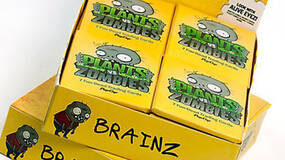 Image for Plants vs Zombies trading cards on sale, all proceeds to charity