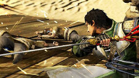 Image for Dynasty Warriors 8 screens show three Shu characters