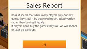 Image for Game Dev Tycoon pirates express frustration with piracy