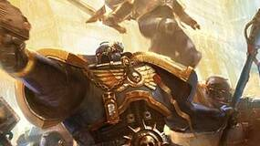 """Image for Space Marine in WH40K RPG is a """"power-suited badass"""""""