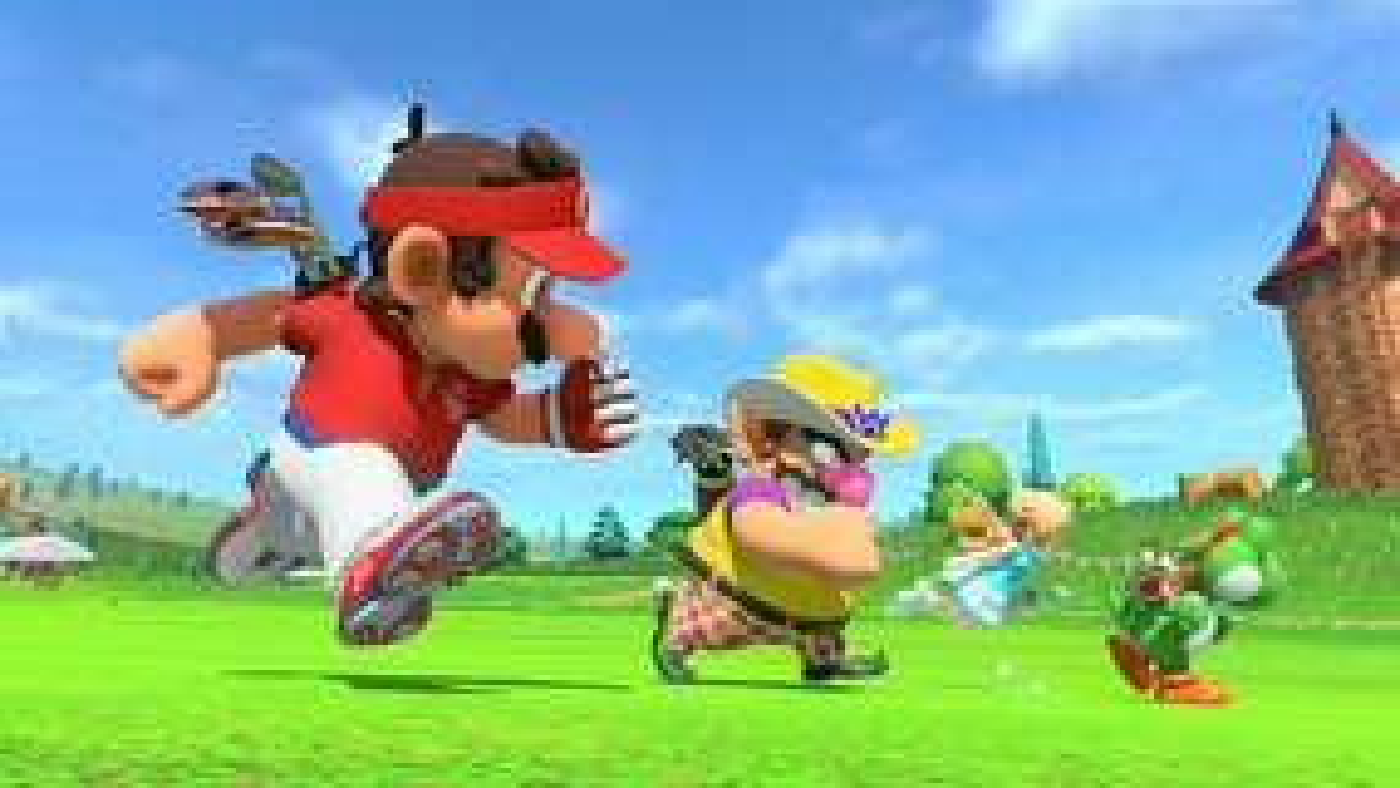Image for Where to pre-order Mario Golf: Super Rush