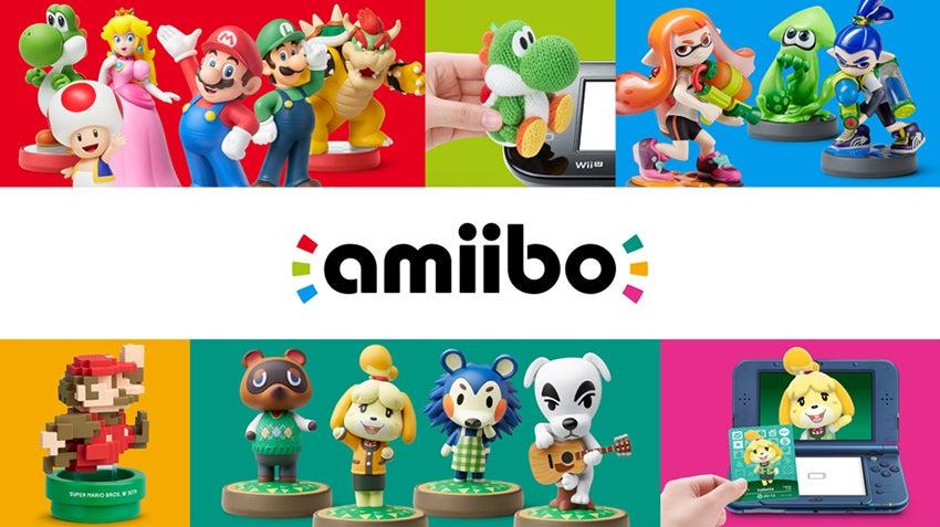 Image for Nintendo leaks 8-bit Mario and Animal Crossing Amiibo