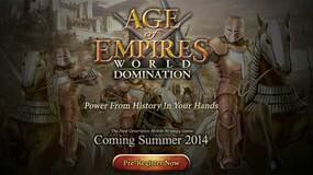 Image for Age of Empires: World Domination coming to mobile in northern summer