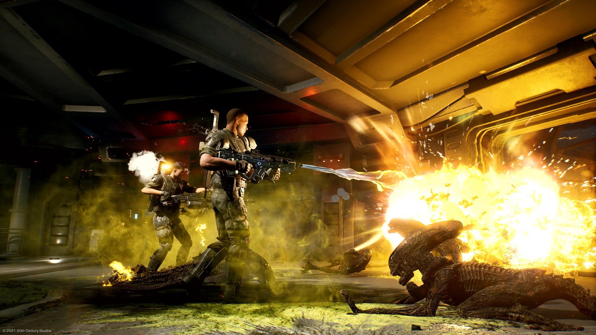 Image for Aliens: Fireteam Elite VG247 co-op video - plus the definitive Alien video game ratings