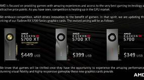 Image for AMD hits back at Nvidia with a pre-launch price-cut for its powerful new Radeon RX 5700 graphics cards