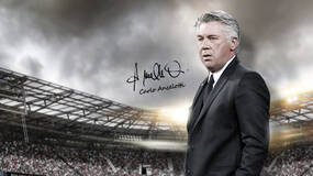Image for Real Madrid's Carlo Ancelotti is the face of United Eleven football sim
