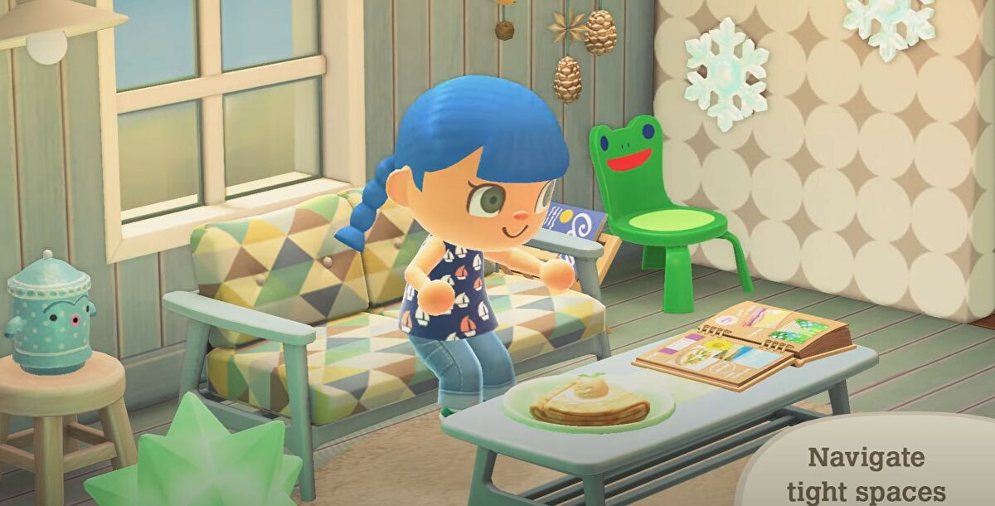 Kursi Froggy akhirnya hadir di Animal Crossing New Horizons