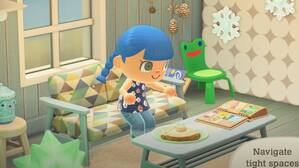 Image for The Froggy Chair is finally coming to Animal Crossing New Horizons