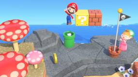 Image for Animal Crossing + Mario | How to get Mario items in New Horizons