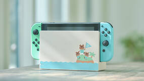 Image for Limited edition Animal Crossing Nintendo Switch is back in stock at more stores