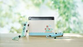 Image for The Limited Edition Animal Crossing Nintendo Switch is back for preorders