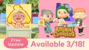 Image for Animal Crossing: New Horizons free update coming March 18