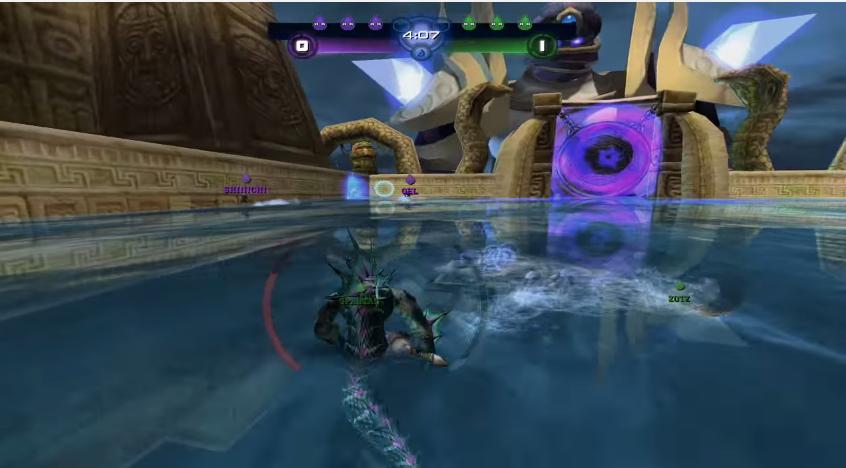 Image for Aqua League is a Rocket League-esque mod for StarCraft 2