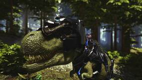 Image for The next Ark: Survival Evolved update features dinosaurs with laser beams on their heads