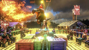 Image for Ark: Survival Evolved update adds new creatures, Dragon Boss and Birthday fun
