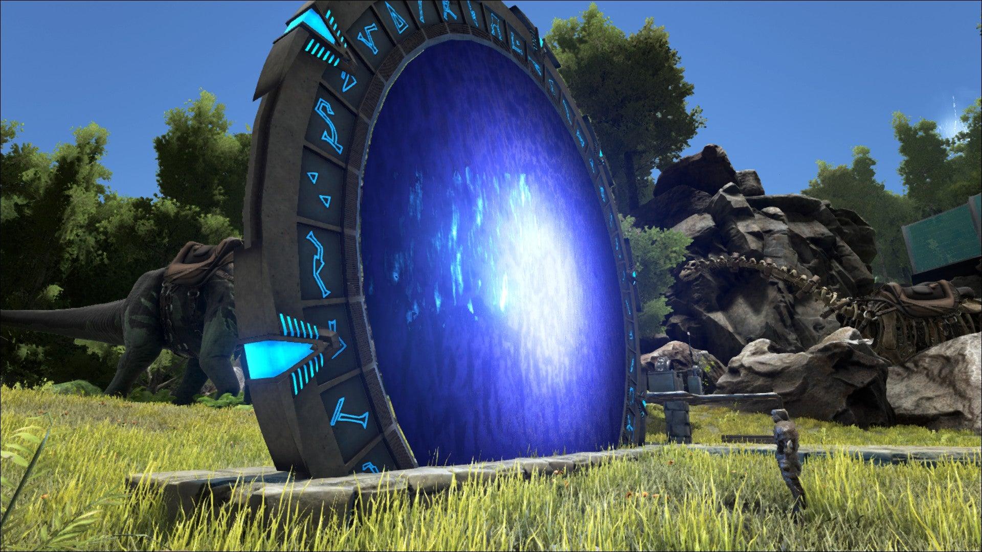 Image for ARK: Survival Evolved mod adds Stargate Atlantis portals