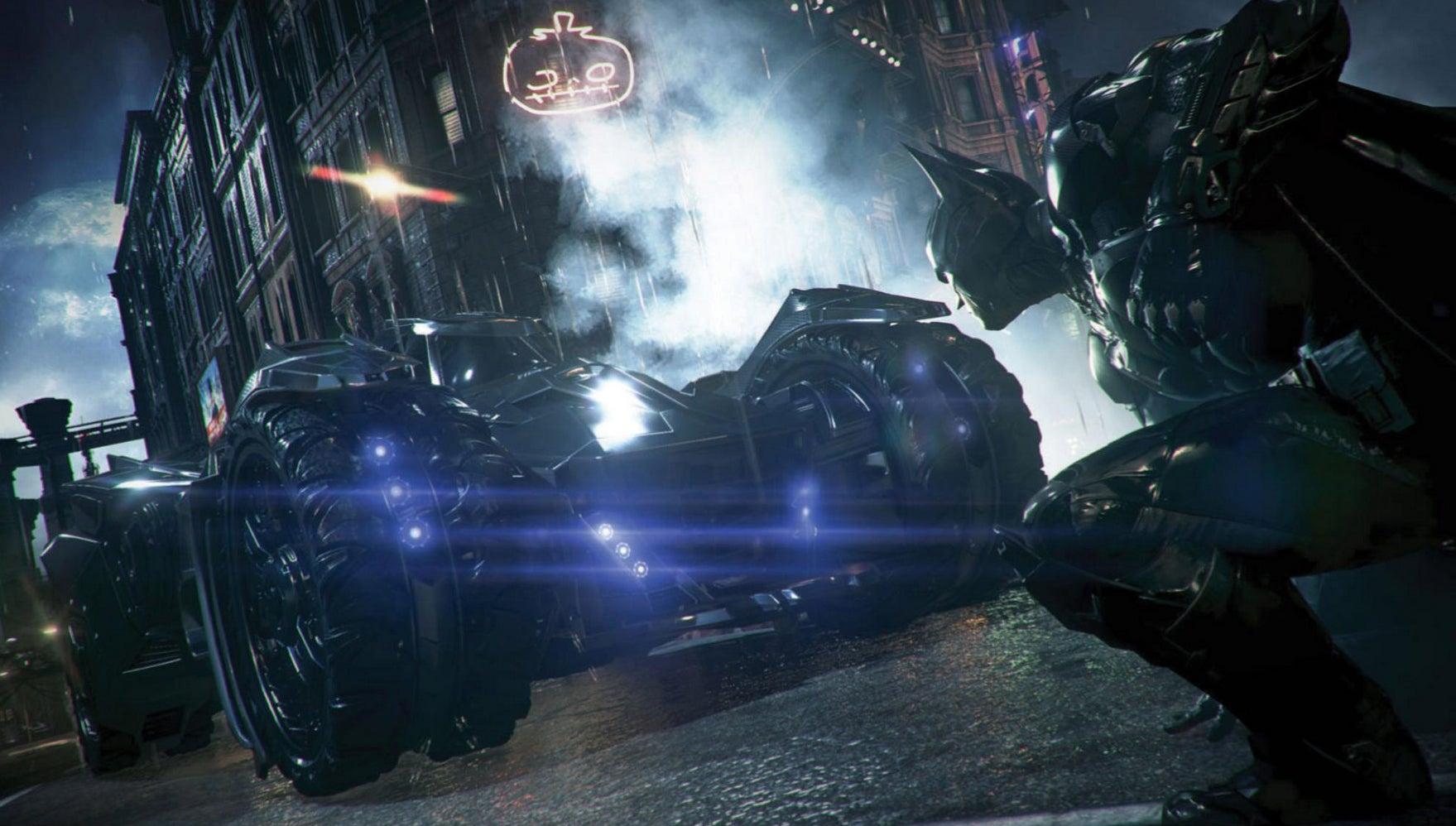 Image for New Batman: Arkham Knight screenshots show off Batmobile, bad guys