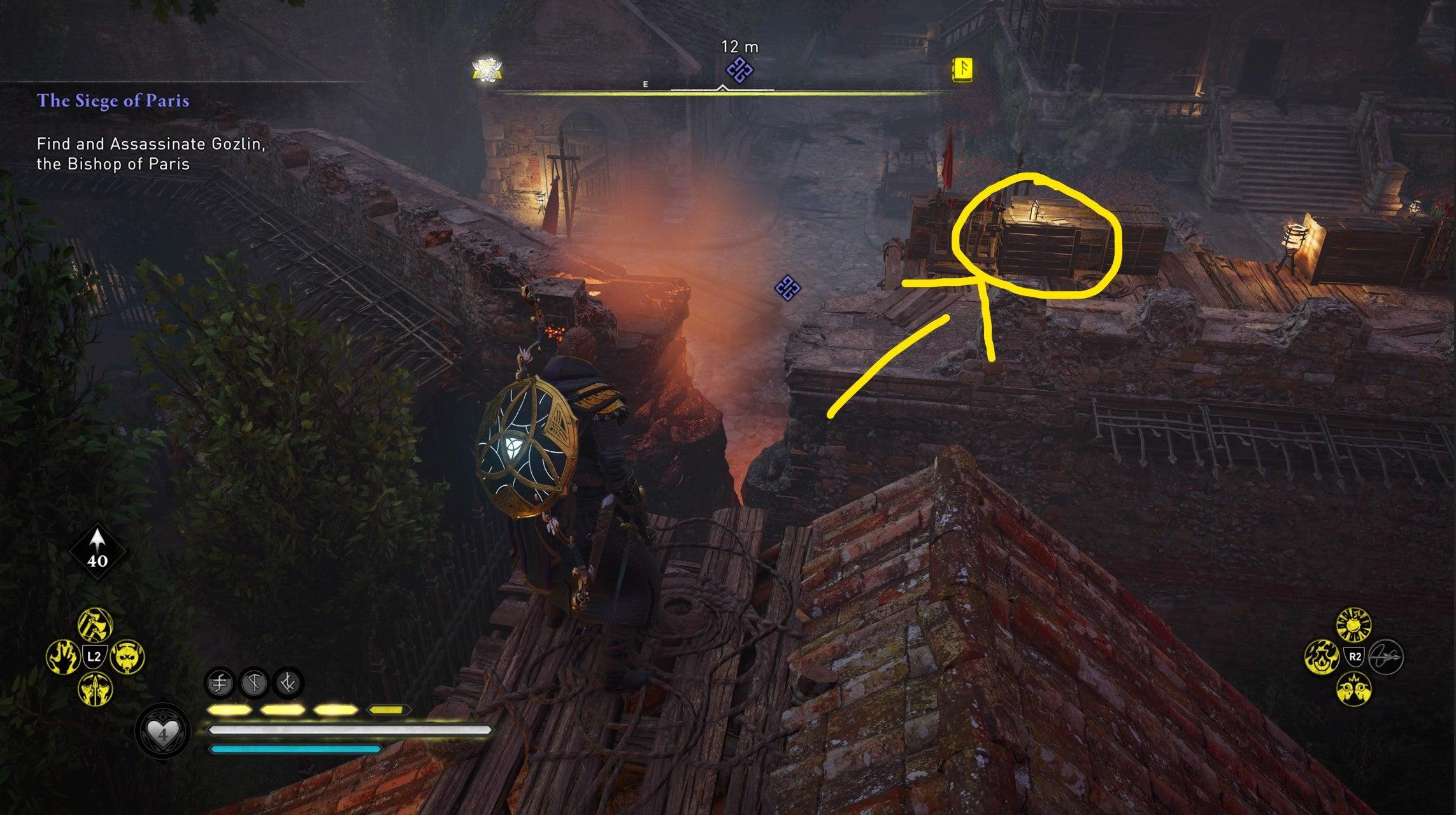 Image for Assassin's Creed Valhalla Siege of Paris | Bishop Gozlin Assassination Event