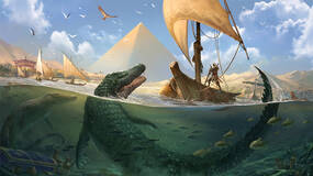 Image for Oh shit, this week's Assassin's Creed Origins: Trials of the Gods is against Sobek, a giant freaking crocodile
