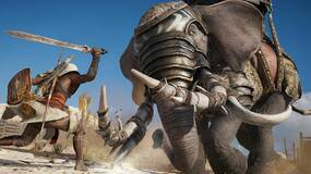 Image for Assassin's Creed Origins lets you beat an elephant to death with your fists - check out this video