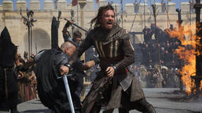 Image for Assassin's Creed movie is split 35% past, 65% present day