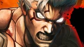 Image for Asura's Wrath launch trailer and DLC screens show an enraged hero