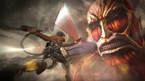 Image for Attack on Titan trailer is full of Titans getting cut, buildings getting destroyed