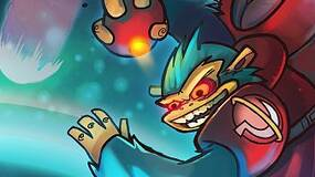 Image for Awesomenauts video shows split screen mode