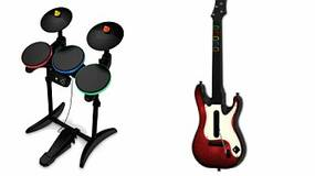 Image for New drum and guitar controller kit to ship with Band Hero in Europe