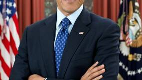 Image for Obama: rubbish at games, but really likes The Witcher
