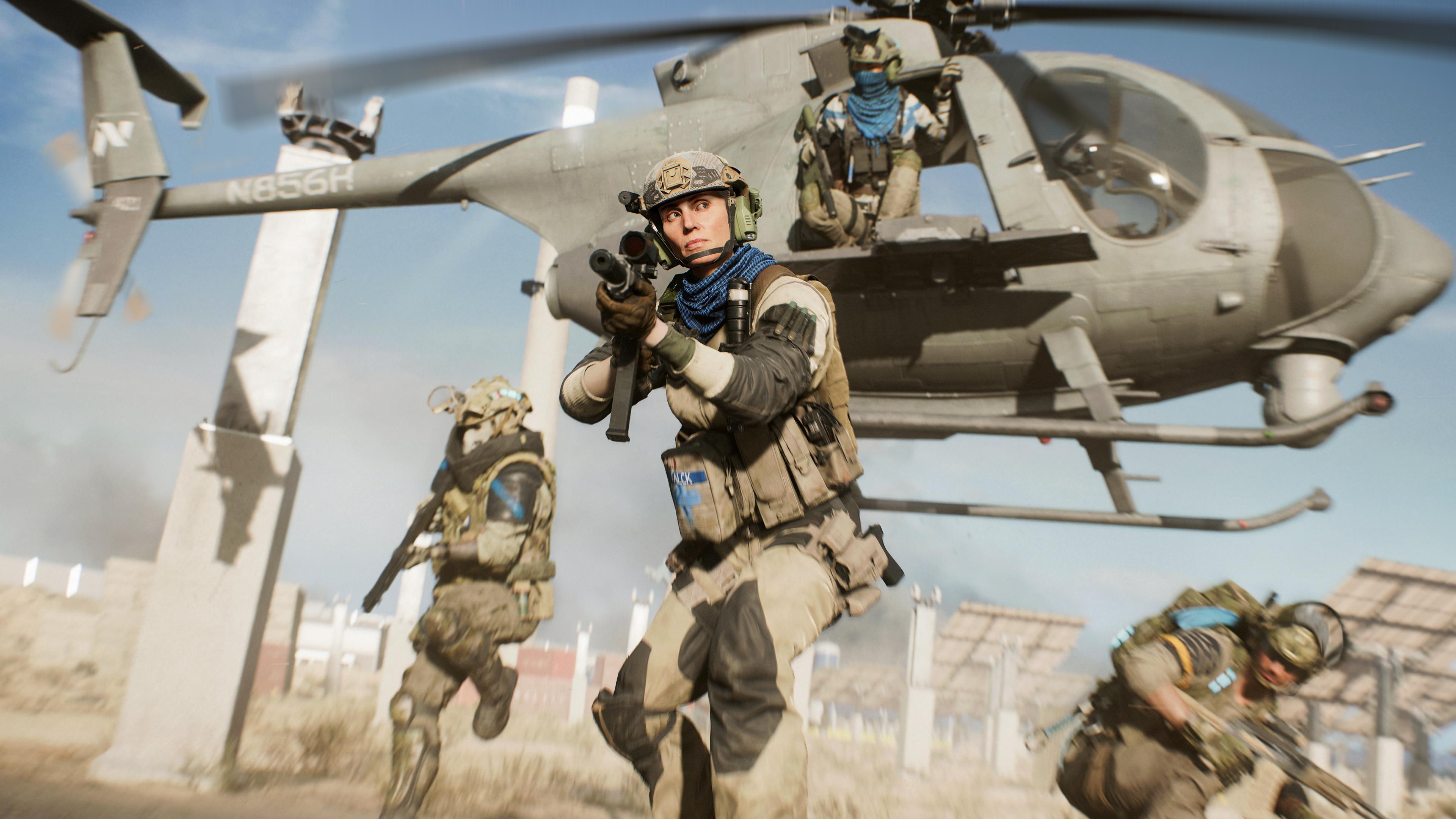 Image for Battlefield 2042's Hazard Zone finally detailed – Tarkov meets The Division's Dark Zone