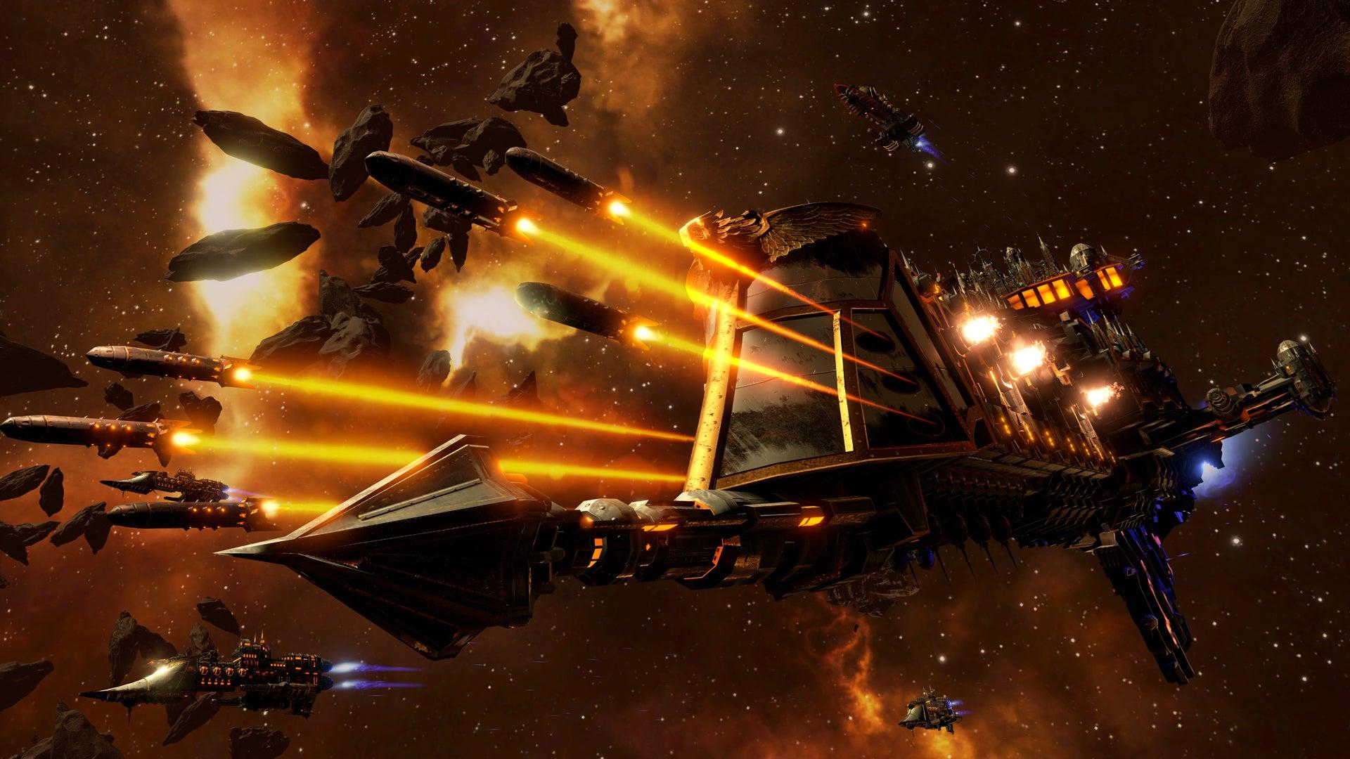 Image for Meet the spaceships of Battlefleet Gothic: Armada