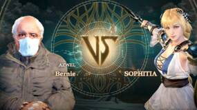 Image for You can play as the Bernie Sanders inauguration meme in Soulcalibur 6