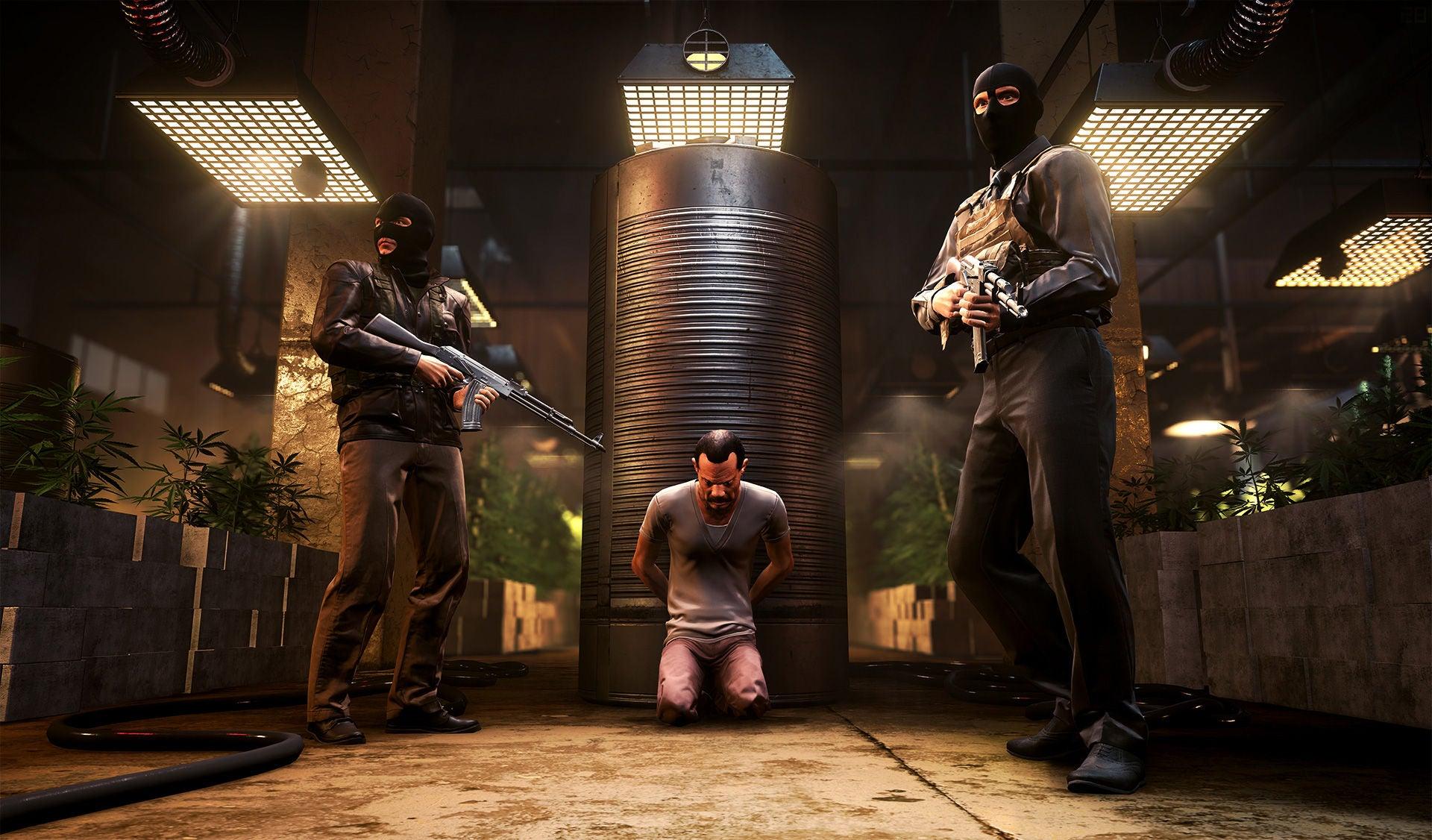 Image for New Battlefield Hardline screenshots pump up the action (and alligators)