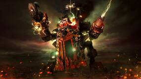 Image for Warhammer 40,000: Dawn of War 3 - playing Eldar, Ork & Space Marine factions off against each other