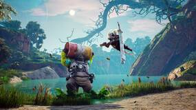 """Image for Large Biomutant patch out for PC, fixes crashing and reduces """"gibberish"""""""