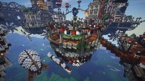 Image for BioShock: Infinite's Columbia remade in Minecraft, and it's mighty impressive too