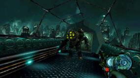 Image for BioShock as a PSOne game makes Big Daddy look less intimidating