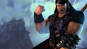 Image for Brutal Legend's opening sequences in video, Schafer included