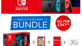 Image for Black Friday build your own Nintendo Switch bundle lets you choose from Breath of the Wild, Super Mario Odyssey, Skyrim, more