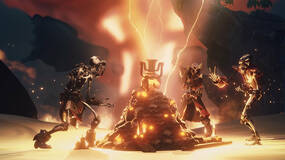 Image for Sea of Thieves update Ashen Winds has Ashen Lords who spit fire, scorched pets, more