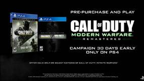 Image for Call of Duty: Infinite Warfare PS4 pre-order includes Modern Warfare Remastered early access