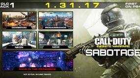 Image for First Call of Duty: Infinite Warfare DLC pack drops at the end of January, adds four maps and new Zombies content