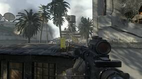 Image for Call of Duty: Modern Warfare Remastered acknowledges classic map glitch with wet floor sign