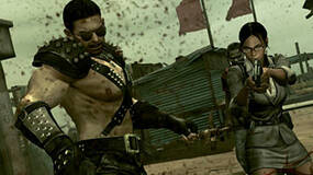 Image for PC exclusive Resi 5 clothes show Redfield in ridiculous studded leather