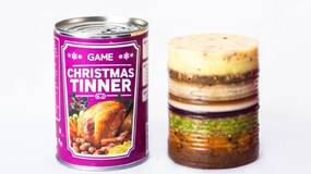 Image for GAME has a shot at relevancy with the Christmas Tinner, cursed festive food in a can